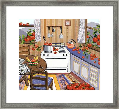 Bumper Crop Framed Print by Anne Gifford