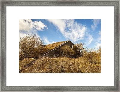 Bunker Down Framed Print by CJ Schmit