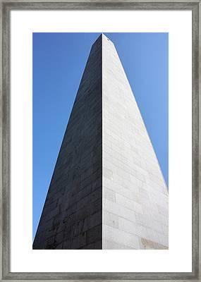 Bunker Hill Monument Framed Print by Kristin Elmquist