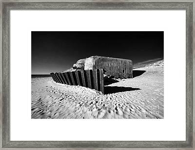 Bunker Framed Print by Holger Ostwald