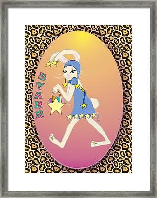 Bunnie Girls- Starr- 2 Of 4 Framed Print