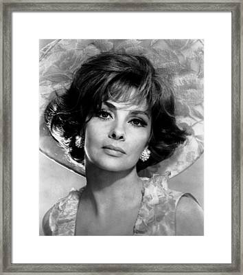 Buona Sera, Mrs. Campbell, Gina Framed Print by Everett