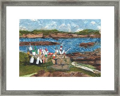 Buoy Collection Framed Print