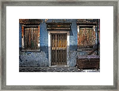 Burano - Venezia Framed Print by Joana Kruse