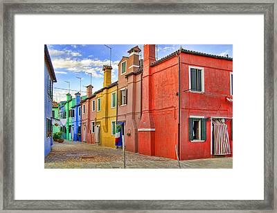 Burano 2 Framed Print by Mauro Celotti
