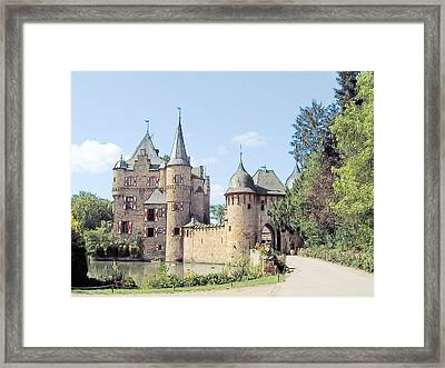 Burg Satzvey Germany Framed Print by Joseph Hendrix