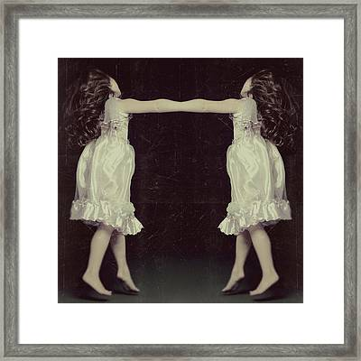 Burlesque Twins Framed Print by Tove Jessica Frank