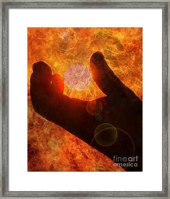 Burn Framed Print by Billie-Jo Miller