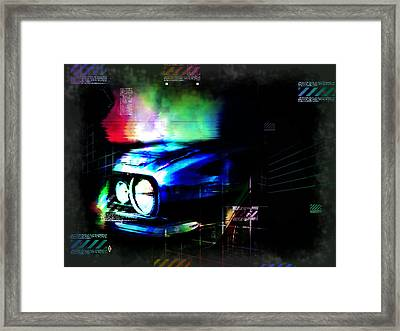 Burn Out Framed Print by Adam Vance