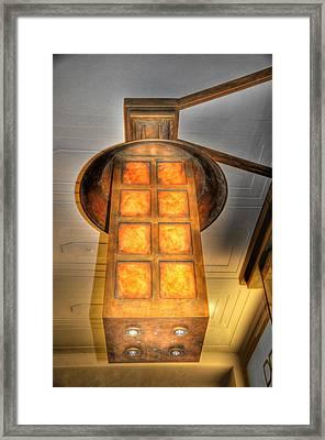 Burning Framed Print by Barry R Jones Jr