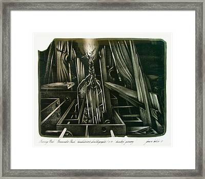 Burning Bush 1982 Framed Print