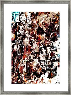 Burning Issues Framed Print by Steve Taylor