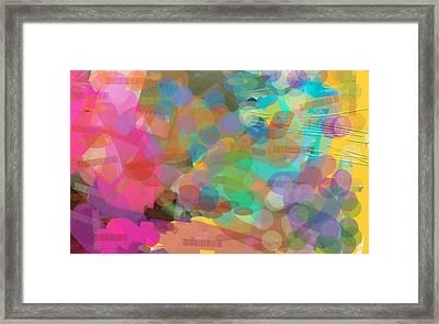 Burst Of Creation Framed Print