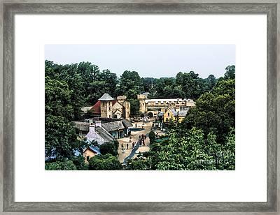 Busch Garden Township Framed Print by Joe Finney
