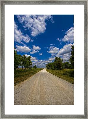 Busch Wildlife Hiking Trail Framed Print by Bill Tiepelman