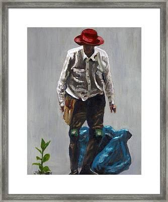 Bush Regenerator Framed Print