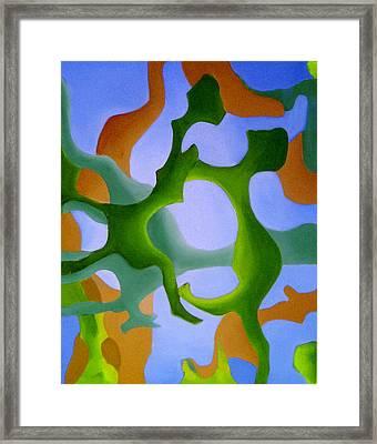 Bush Tango 12 Framed Print by Giro  Tavitian