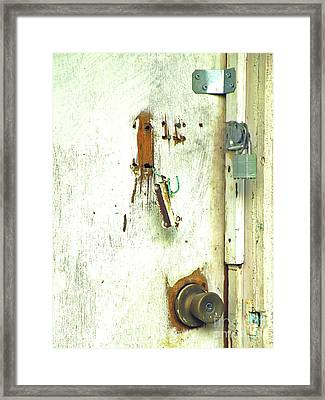 Busted Framed Print by Joe Jake Pratt