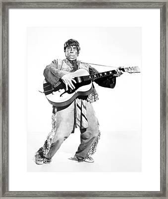 Buster Keaton, 1964 Framed Print by Granger