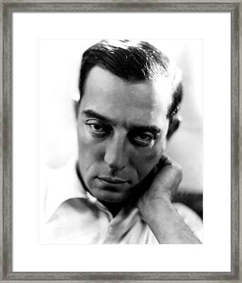 Buster Keaton, Mgm, Ca. Late Framed Print