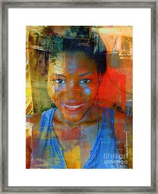 But Still Blessed Framed Print by Fania Simon