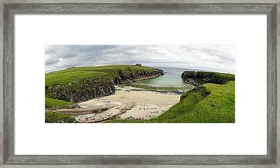 Butt Beach Lewis Framed Print by Jan W Faul