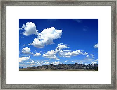 Butte Valley Nevada Framed Print