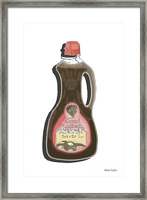 Butter Lite Framed Print by George Pedro