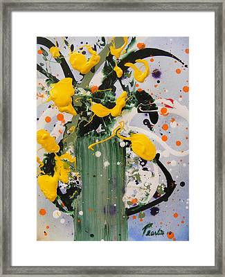 Buttercups Framed Print
