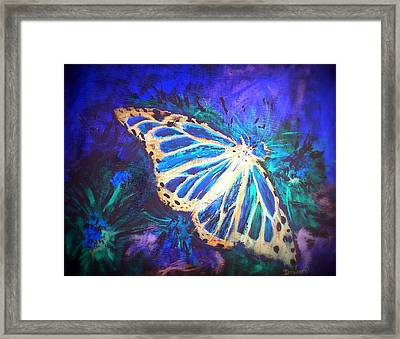 Butterfly Beauty 2 Framed Print by Raymond Doward