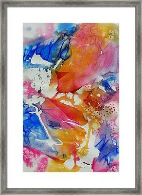 Butterfly Garden Framed Print by Lori Chase