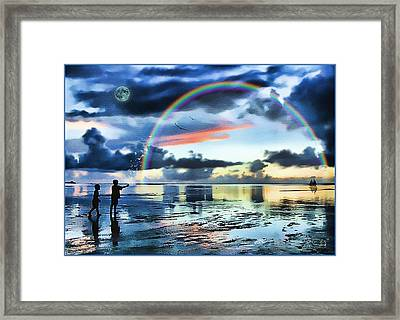 Butterfly Heaven Framed Print by Tom Schmidt
