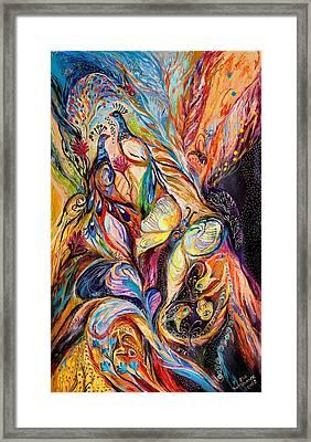Butterfly On Wind ... Visit Www.elenakotliarker.com Framed Print by Elena Kotliarker
