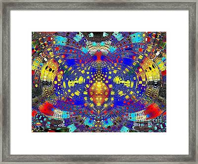Butterfly Spirit Framed Print by Vidka Art