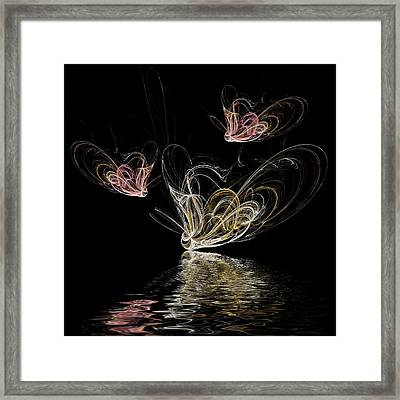 Butterfly Spirits Framed Print by Sharon Lisa Clarke