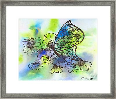 Butterfly Transformations Framed Print