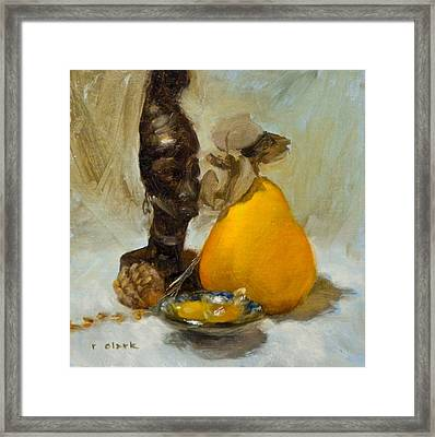 Butterscotch Framed Print