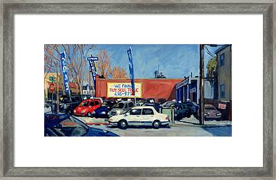 Buy Sell Trade Framed Print by Thor Wickstrom
