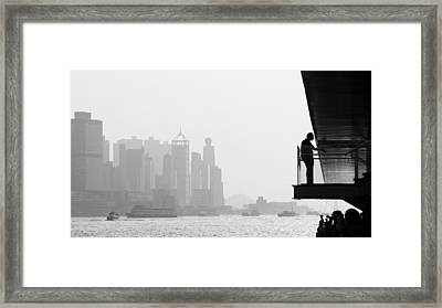 Bw City  Framed Print by Kam Chuen Dung