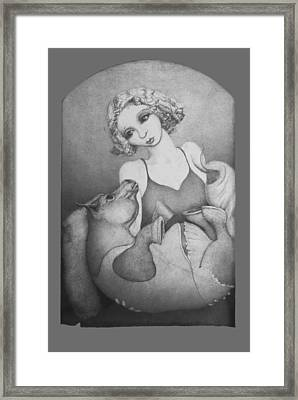 By And By Framed Print