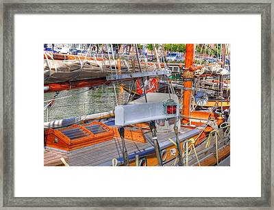 By And Large Framed Print by Barry R Jones Jr