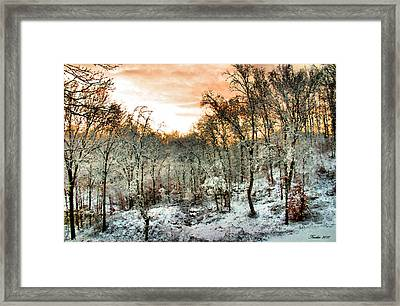 By Dawn's Early Light Framed Print by Kristin Elmquist