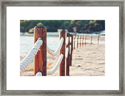 By  Sea Framed Print by Maria Jose Valle Fotografia