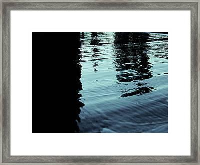 ..by The Lake.. Framed Print by Adolfo hector Penas alvarado