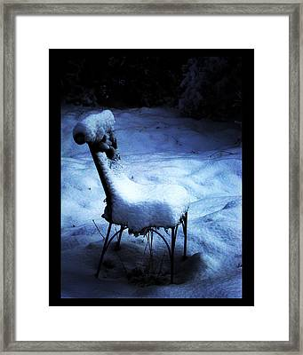 Framed Print featuring the photograph By The Light Of The Moon by Susanne Still