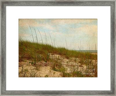 By The Sea Framed Print by Judi Bagwell