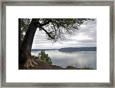 Framed Print featuring the photograph By The Still Waters by Tikvah's Hope