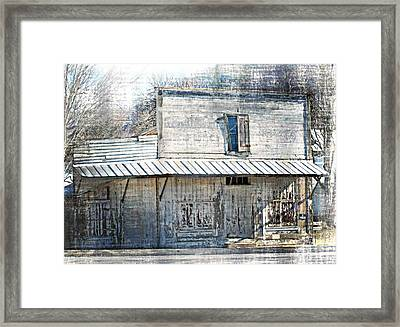 By The Tracks In Vesuvius Framed Print by Kathy Jennings