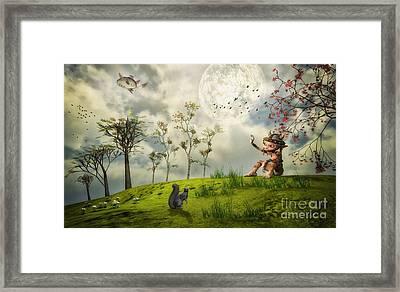 Bye For Now Framed Print