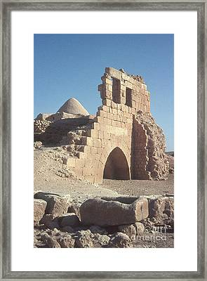 Byzantine Ruins Framed Print by Photo Researchers, Inc.